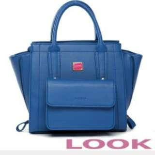 Look 專櫃購入 輕甜浪漫Nena兩件組 手提包 斜背包