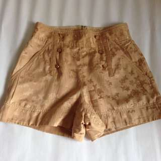 Marc Jacobs Silk Shorts