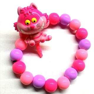 迪士尼 妙妙貓防塵塞 手鍊手環
