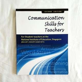 BRAND NEW Communication Skills For Teachers - 2nd Edition (PENDING)