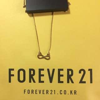 韓國現貨🇰🇷Forever 21 無限符號 項鍊