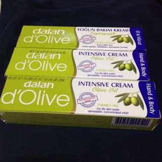 🚚 土耳其dalan d'Olive 橄欖 護手&身體乳 20ml