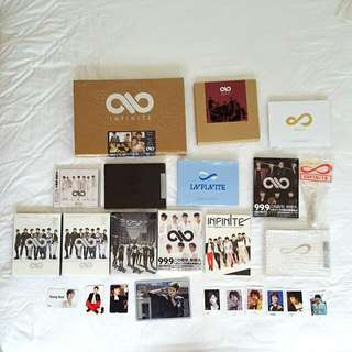 INFINITE Past Albums & Merchandise/Posters & Photocards