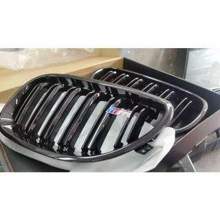 E60 E90 F30 M Double Fins Kidney Grille + Installation