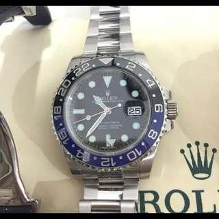 LNIB Rolex Batman 116710 BLNR