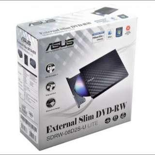 New ASUS External Slim DVD Writer (sdrw-08d2s-u)