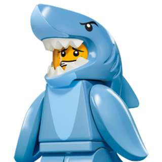 Minifig Shark Man Series 15