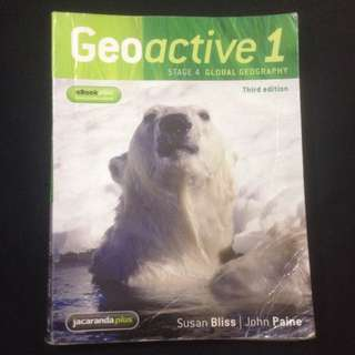 Geoactive 1 - Stage 4 Global Geography