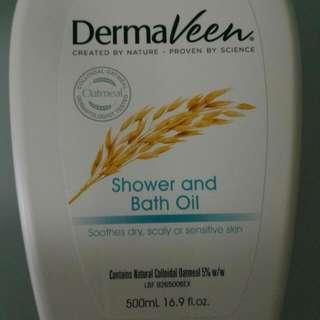 DermaVeen Shower & Bath Oil