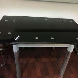 二手玻璃折疊餐桌