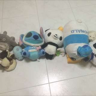 All In Picture Plush Toy $20 For All