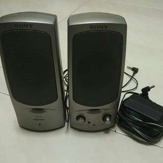 Portable SONY stereo Speakers