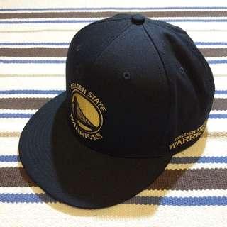 (待匯)NBA 金州勇士 後扣棒球帽 黑金創信版 GOLDEN STATE WARRIORS SNAPBACK