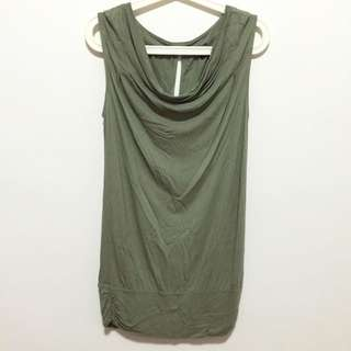 Olive Green Top/Dress