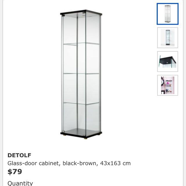 photo photo photo photo  sc 1 st  Carousell & 2 BN Detolf IKEA Cabinets Furniture on Carousell
