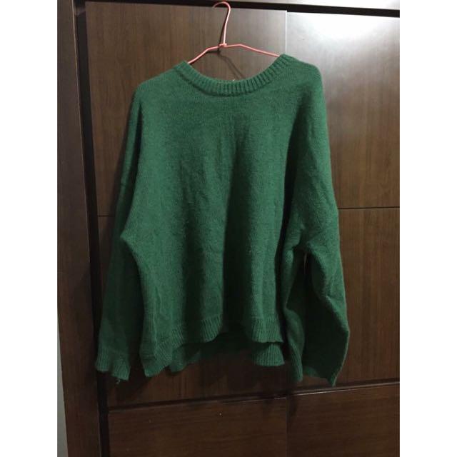 (保留)綠毛衣