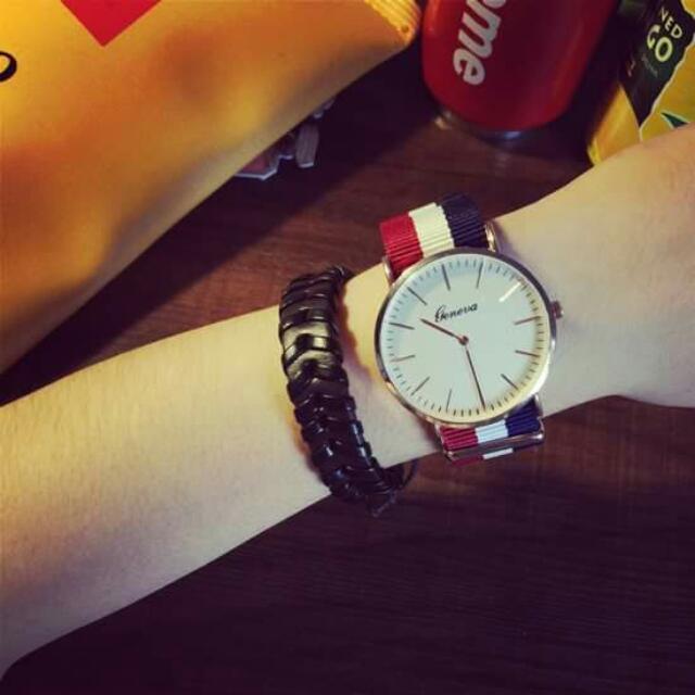 條紋,對錶,情侶錶(免運費)