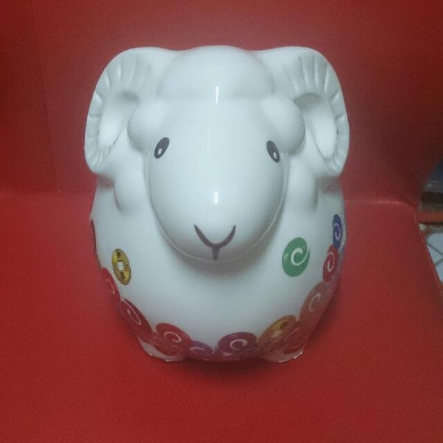 綿羊存錢筒