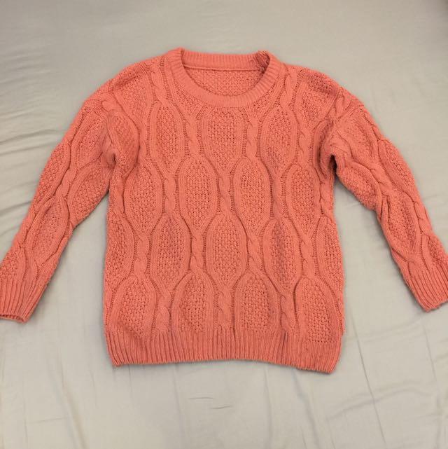 韓針織毛衣