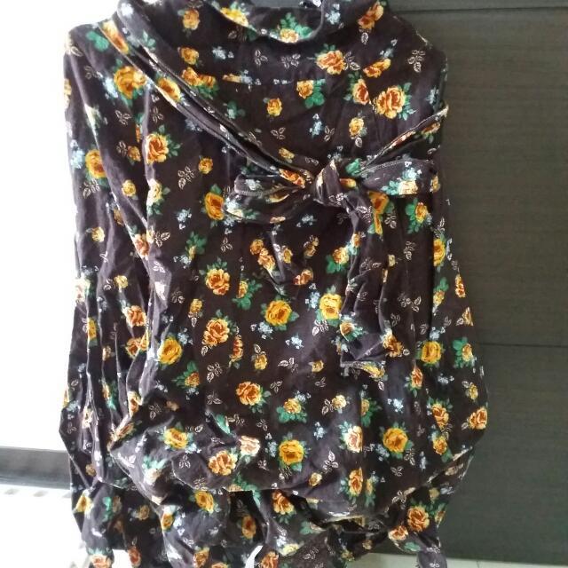渡假海攤風長裙(可變露肩洋裝,澎裙)