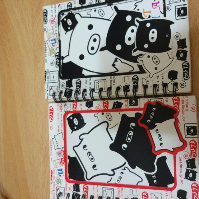 黑白豬 筆記本