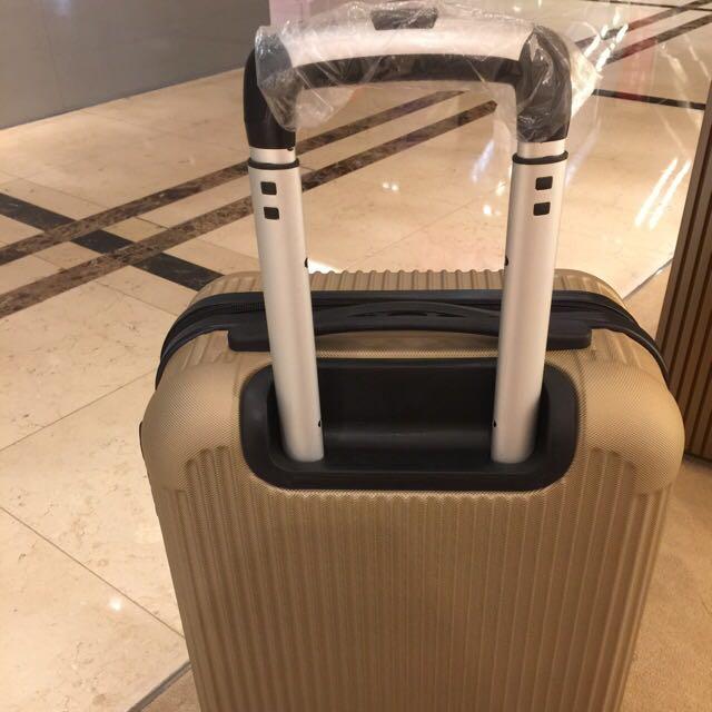 古銅金行李箱 全新 20吋 登機箱