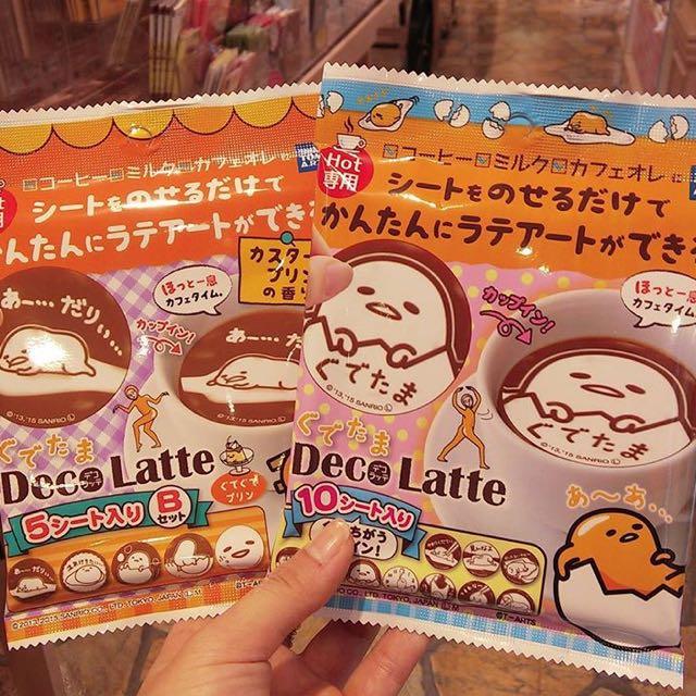 日本直送 蛋黃哥 拉花片