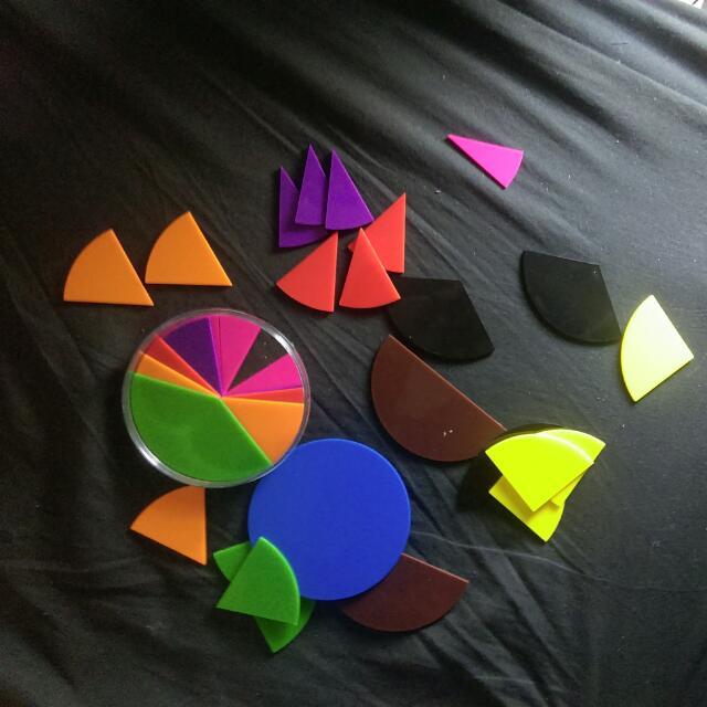 幾何 玩具 圓形 扇形