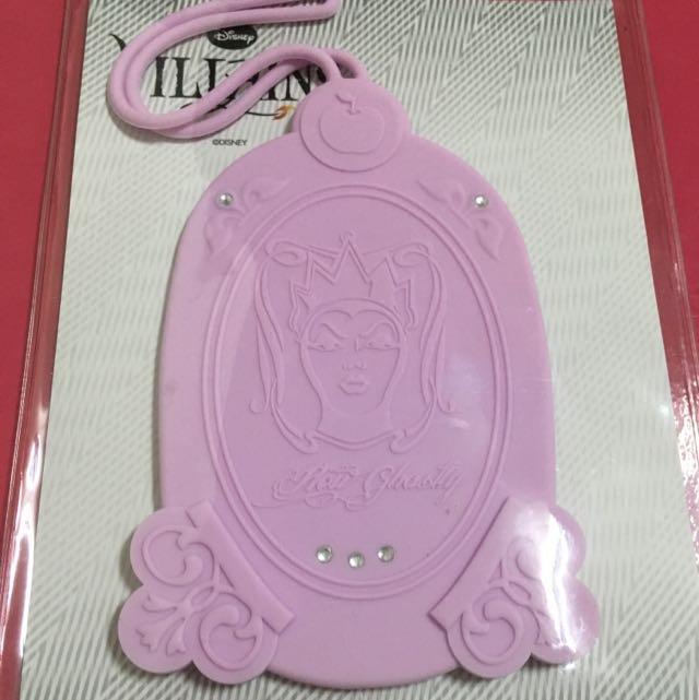 白雪公主 壞皇后 行李吊牌 全新 迪士尼