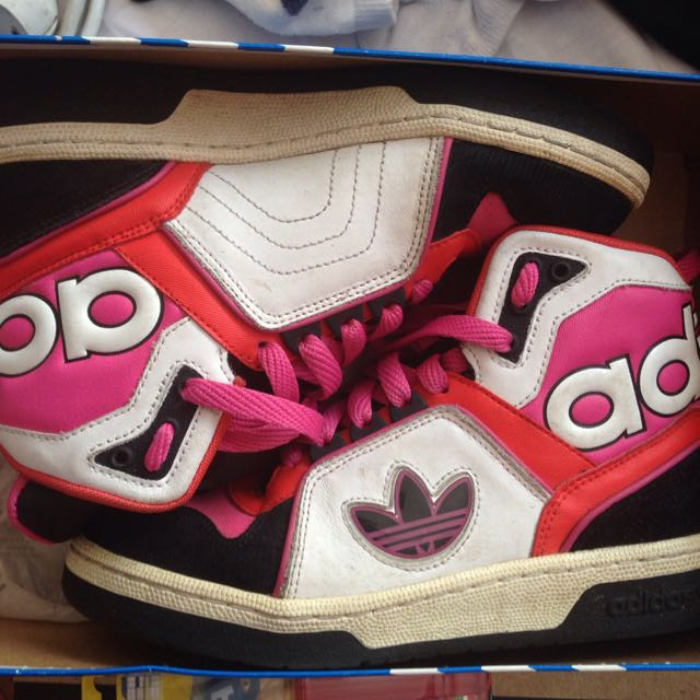 Adidas Ecstasy Hi Tops Size 5