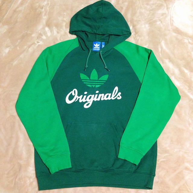 (待匯款)adidas_originals 綠色棒球帽T