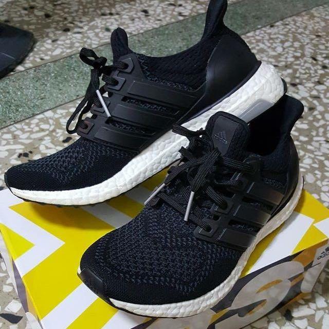 Adidas ultra boost 黑白