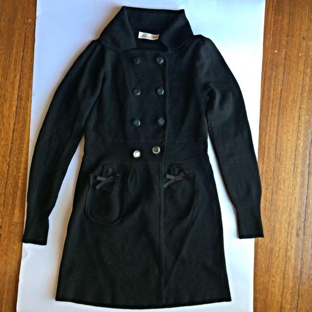 Alannah Hill 100%Merino Wool Cardigan Size 8