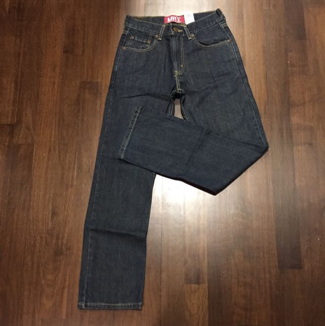 ae69cd3769f Authentic Pre loved Levi's 514 Blue Slim Straight Jeans, Men's Fashion on  Carousell