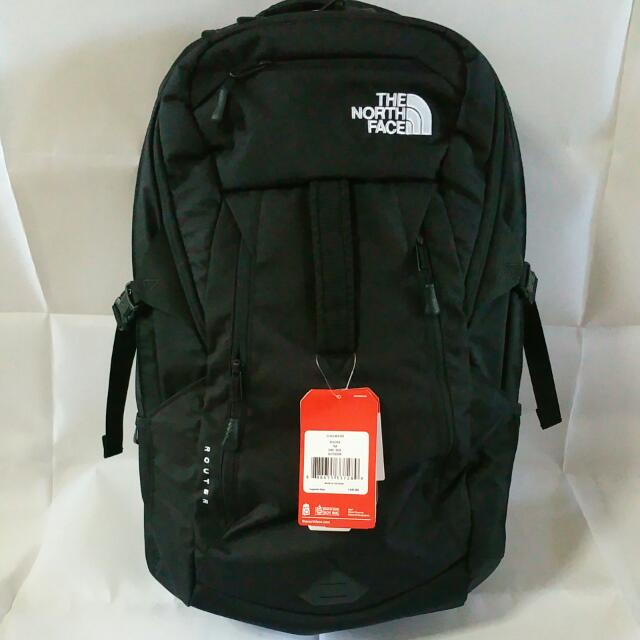 6d8a4b372367b1 Brand New The North Face Router Backpack For Sale, Sports on Carousell