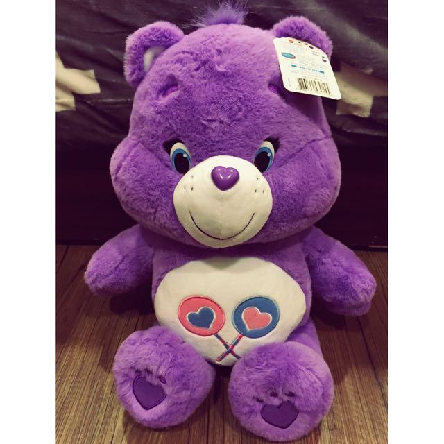 Carebears 紫色熊