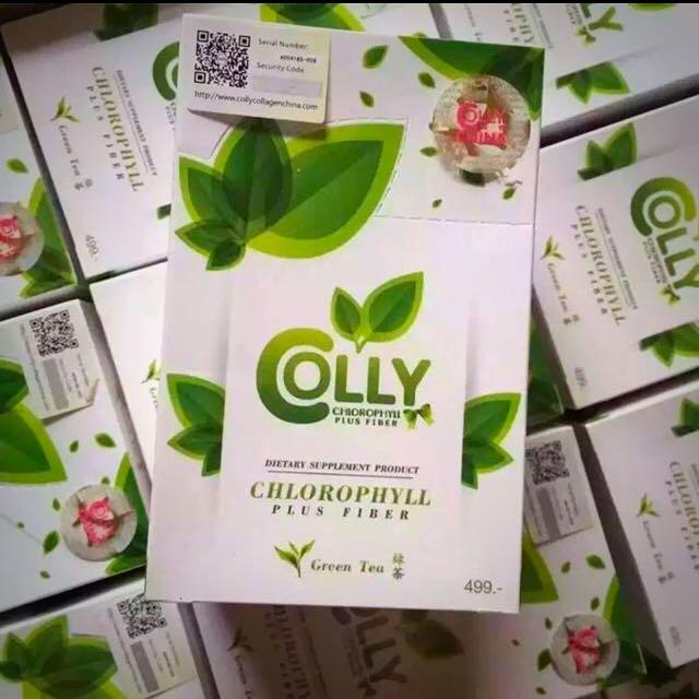 💯泰國🇹🇭COLLY綠茶素