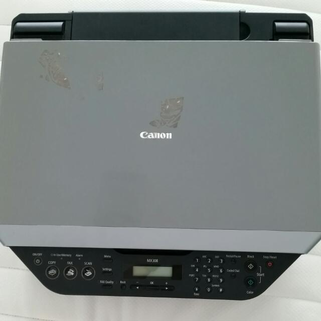 Colored Printer  (CANON MX308) 4-in-1