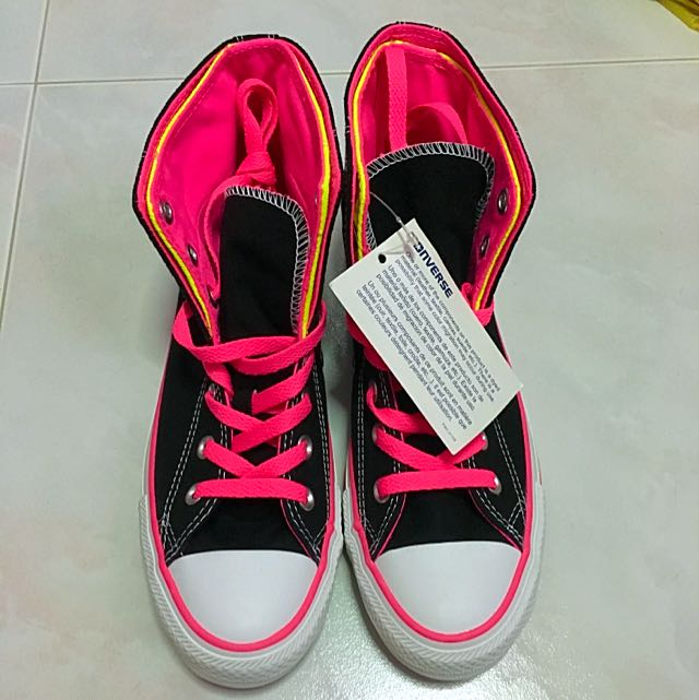 fc9579f8f940 Converse - High Cut Neon Colour Sneakers (Authentic)