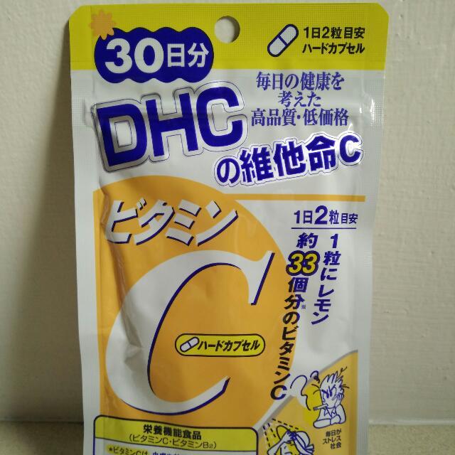 DHC維他命C(30天份,共60粒)