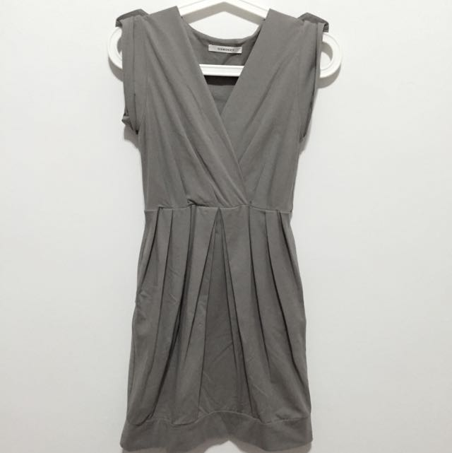 Grey Osmose Work Dress