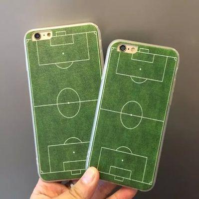 iphone 足球場手機殼 草地