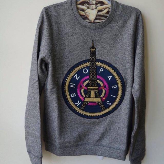 Kenzo paris鐵塔 衛衣sweatshirt