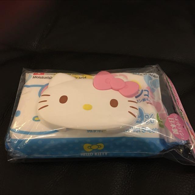 Kitty 濕紙巾蓋(含一包濕紙巾)