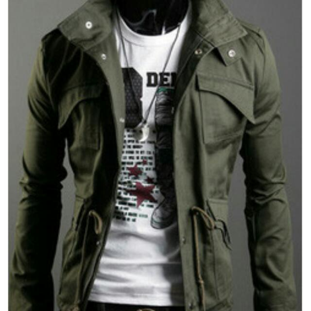 Men's Army Style Jacket