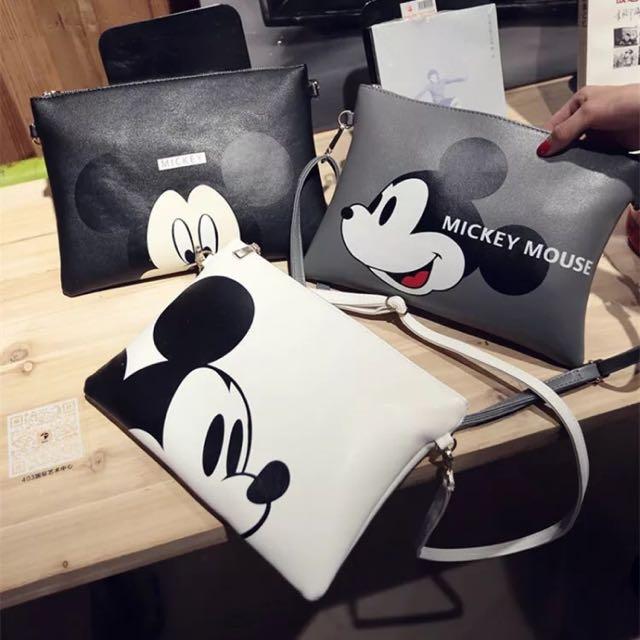 [預購]Mickey Mouse斜背包