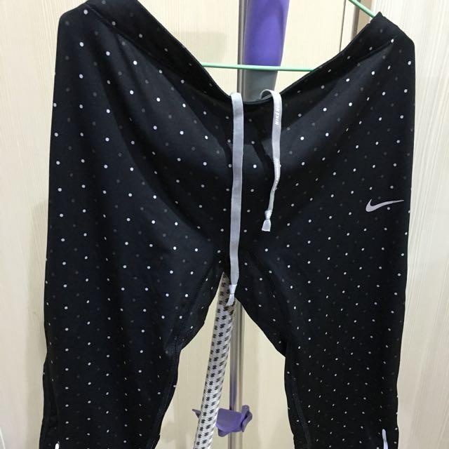 Nike點點緊身運動褲