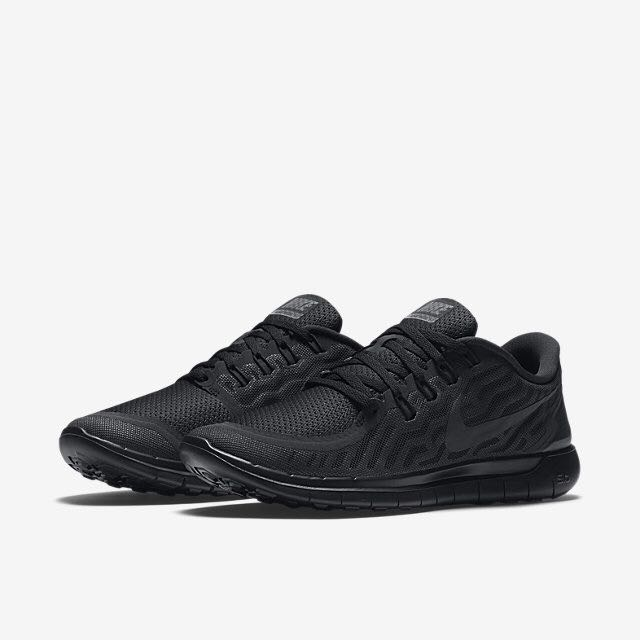 outlet store adb86 a8b0c Nike Free 5.0 (Women) - Black Anthracite Black, Women s Fashion on ...
