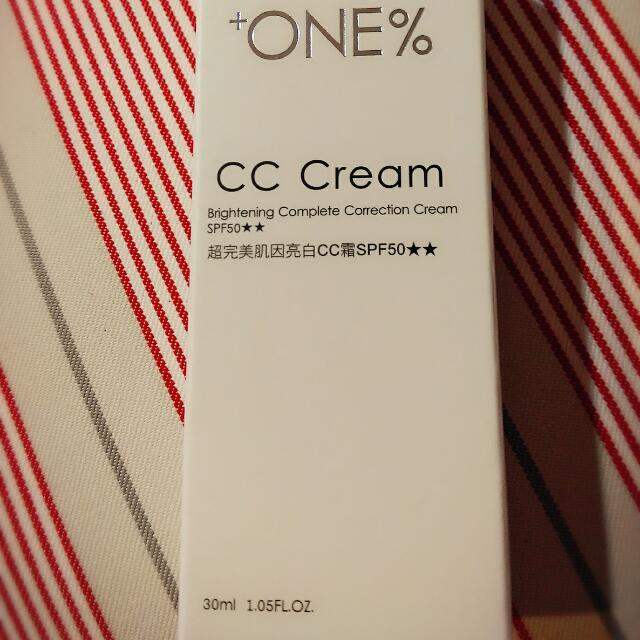 +ONE%歐恩伊 超完美肌因亮白cc霜