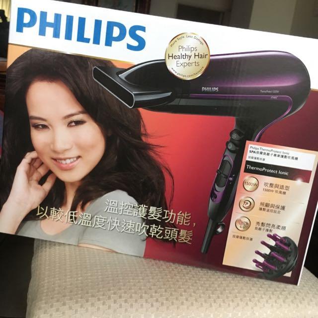 Philips Spa按摩負離子轉移護髮 吹風機